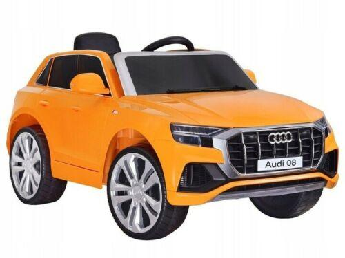 Licensed 12V Audi Q8 Children's Battery Operated 12v Ride on SUV - Yellow