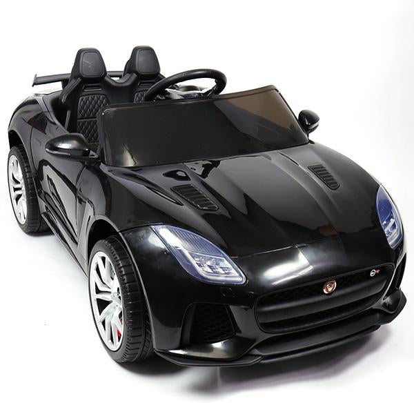Jaguar F-Type SVR Compact 12v Kids Car with Remote - Black