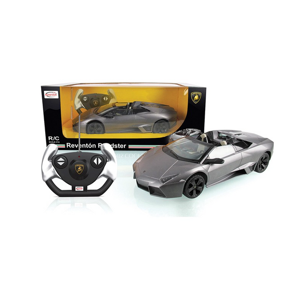 Rastar RC 1:14 Lamborghini Reventon Kids Remote Control Toy Car - Grey