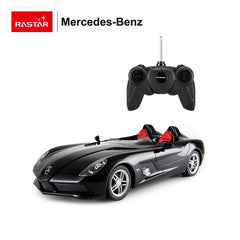 Rastar RC 1:12 Mercedes SLR McLaren Kids Remote Control Toy Car - Black