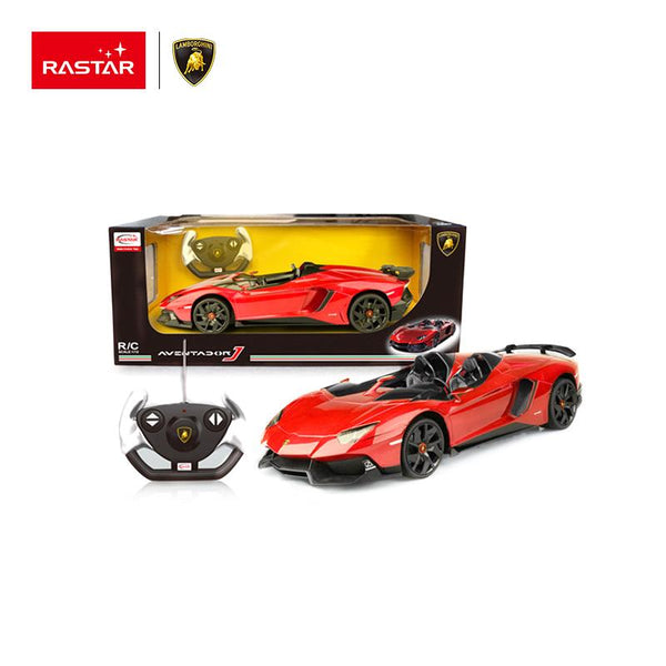 Rastar RC 1:12 Lamborghini Aventador J Kids Remote Control Toy Car - Red