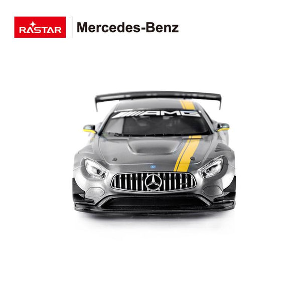 RC 1:14 Mercedes Benz AMG GT3 Kids Remote Control Toy Car - Grey