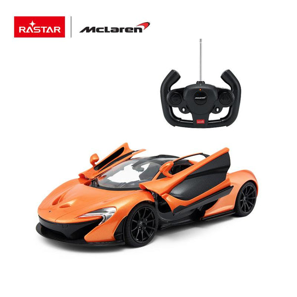 Rastar RC 1:14 Mclaren P1 Kids Remote Control Toy Car - Orange