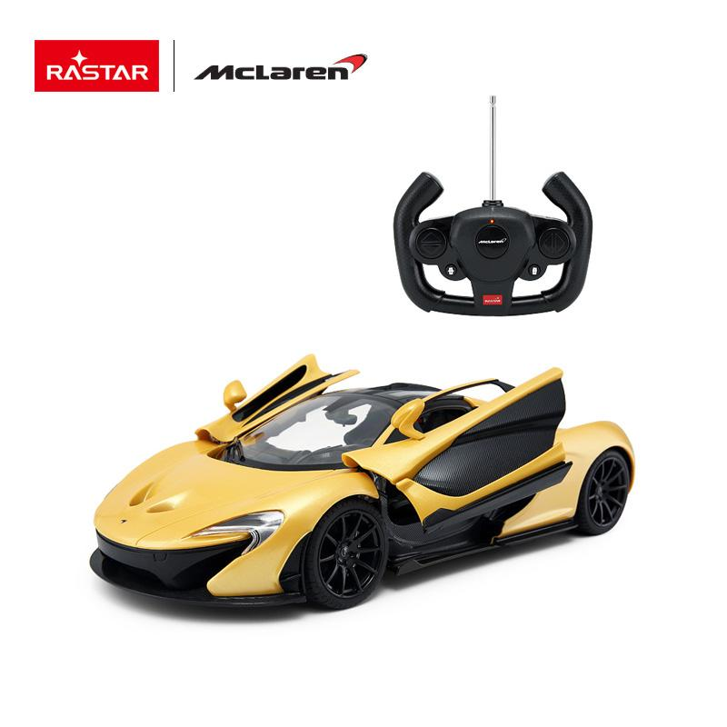 RC 1:14 McLaren P1 Kids Remote Control Toy Car - Yellow