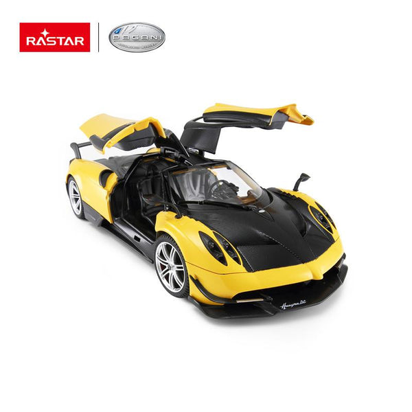 Rastar RC 1:14 Pagani Huayra BC Kids Remote Control Toy Car - Yellow