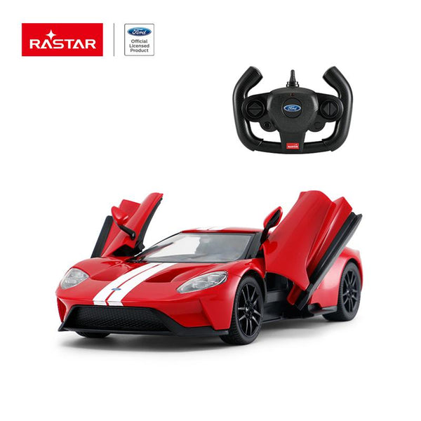 Rastar RC 1:14 Ford GT Kids Remote Control Toy Car - Red