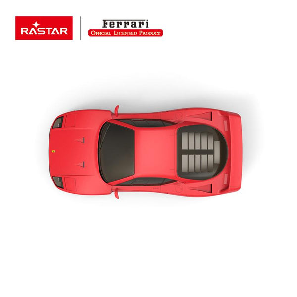 Rastar RC 1:14 Ferrari F40 Kids Remote Control Toy Car - Red