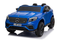 Licensed Mercedes GLC63S 24V 4WD 2 Seater Ride On Car - Metallic Blue