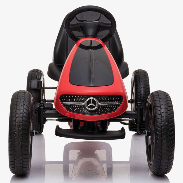 Licensed Mercedes Children's Ride On Pedal Go Kart - Red