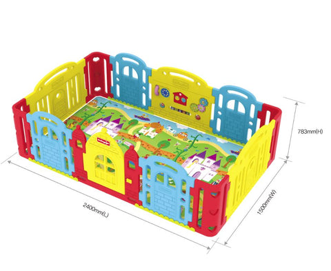 Dwinguler Play mat fits inside The Play Pen