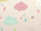 Baby Care Playmat - Happy Cloud - Large baby mat