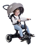 Compact Rito Kids Trike with Push Handle - stylish smart tricycle for kids
