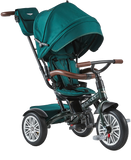 Bentley 6-in-1 Baby Stroller - Kids Trike with push handle - Spruce Green