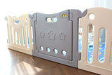 Baby Care Fun Zone Playpen - Melange Grey