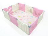 Non Toxic Baby Care FunZone Playpen - Pink