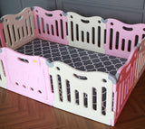Baby Care FunZone Playpen - Pink play room