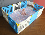 Baby Care FunZone Playpen - Sky Blue kids play room