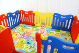Baby Care Fun Zone Playpen - Vivid
