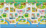Reversible Dwinguler Playmat - Big Town Baby Play Mat