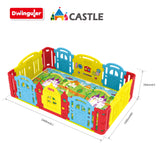 Lightweight Dwinguler Castle Playpen