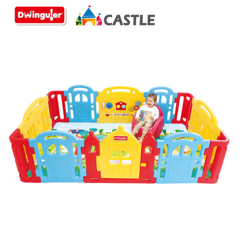 Dwinguler Castle Play Room Playpen