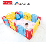Dwinguler Castle Play Room Playpen for Kids
