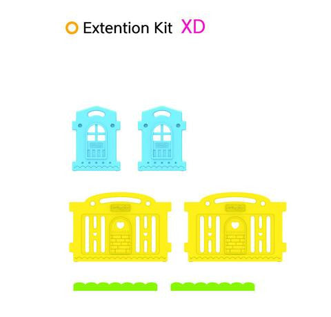 Dwinguler Castle Extension Kit - Rainbow