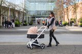 Milkbe Self-Stopping Lullaby Stroller - Safe Auto Braking Stroller
