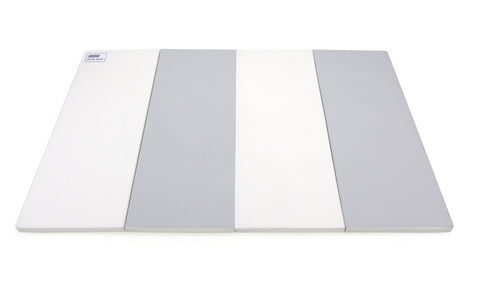 Premium Tumbling Folding Mat - Modern Grey – Medium
