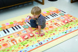 Dwinguler Sound Sensory Reversible Playmat - Music Parade