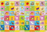 Baby Care Playmat with alphabet - Pingko & Friends