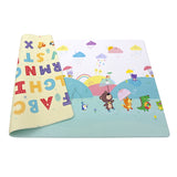 Reversible Dwinguler Playmat with Alphabet - Rainy Day