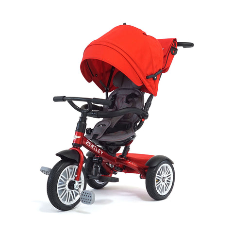 Bentley 6-in-1 Baby Stroller Kids Trike - Dragon Red