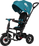 Folding Rito Stroller / Kids Trike - Teal - transforming smart tricycle for kids