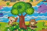 Cute Baby Care Playmat - Pingko & Friends