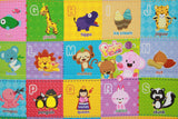 Reversible Baby Care Playmat with animals - Pingko & Friends