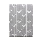 Baby Care Playmat - Sea Petals Grey - Small