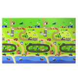 Reversible Baby Care Playmat - Happy Village - Large