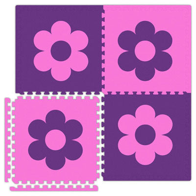 Economy Reversible Soft Floors Flowers