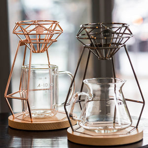 A-IDIO Diamond Coffee Set