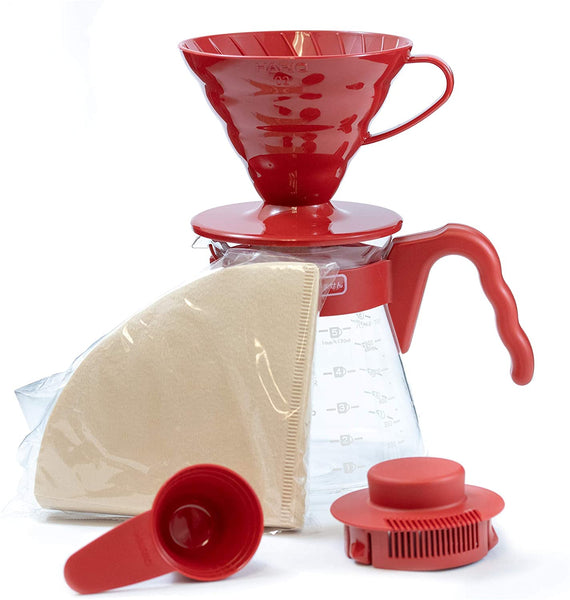 Hario V60 Pourover Set 02 Red