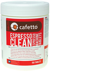 Cafetto Espresso Clean Tablets (150 Tablet Jar)