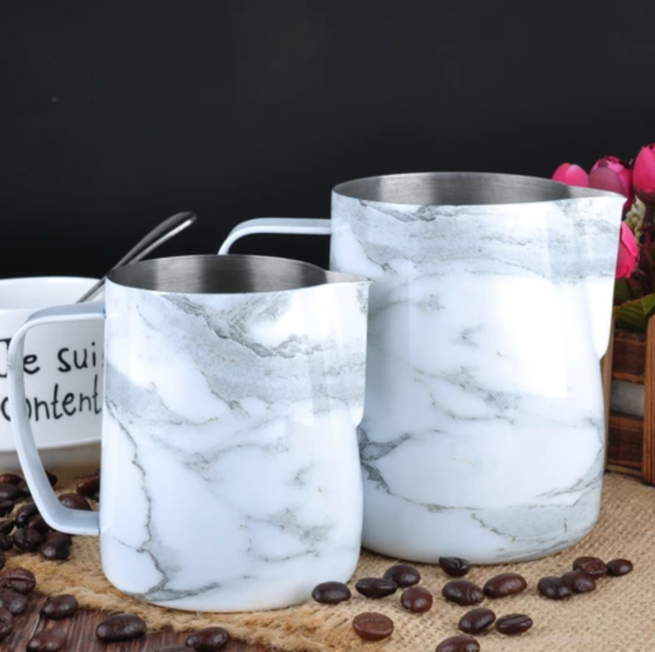 BaristaSpace Pitcher - Marble 350ml