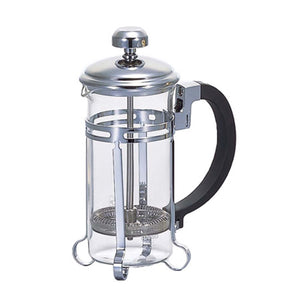 "Coffee Press ""Harior-Aulait"" 2 Cup Silver"
