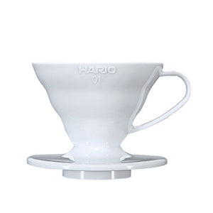 Coffee Dripper V60 01 White plastic
