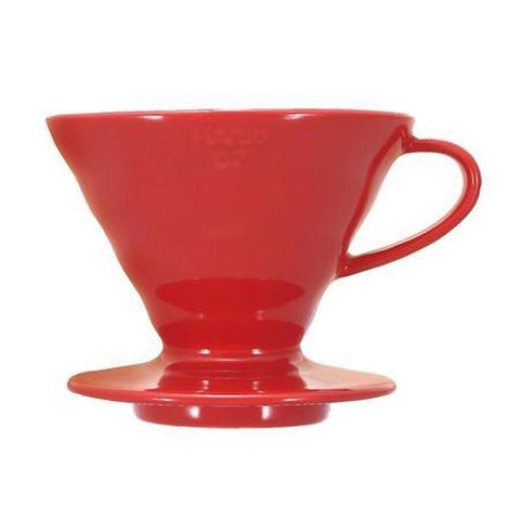V60 Coffee Dripper 02 Plastic / Red
