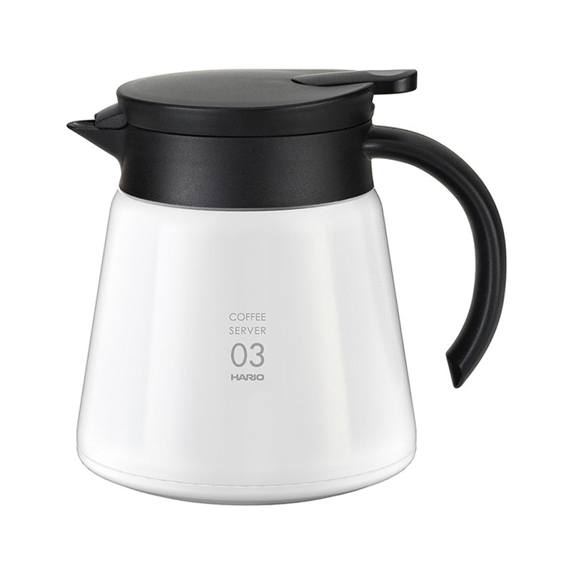 V60 Heat‐Retaining Stainless Server 800ml White