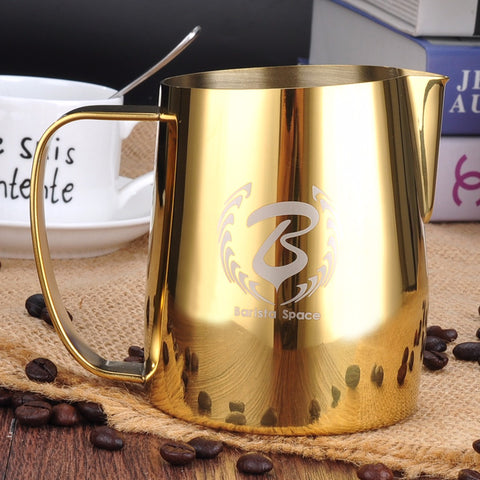 BaristaSpace Pitcher - Golden 350 ml