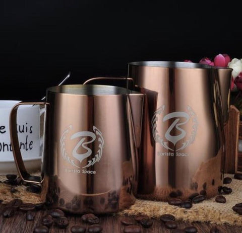 BaristaSpace Pitcher - Rose Gold 350ml