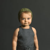 Caterpillar Romper - Earth Colours
